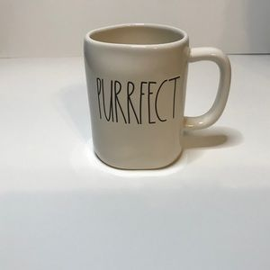 Rae Dunn Purrfect mug cat kitten NEW